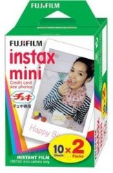 FILM FUJIFILM COLOR FILM INSTAX MINI GLOSSY 20 FOTOGRAFIÍ