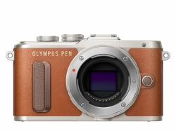 OLYMPUS PEN E-PL8 body brown