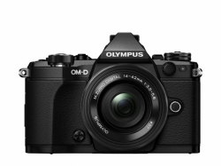 OLYMPUS E-M5 Mark II 1442 EZ kit black + ET-M4518