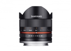 SAMYANG 8MM F2.8 II CANON M (BLACK)