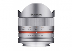 SAMYANG 8MM F2.8 II CANON M (SILVER)