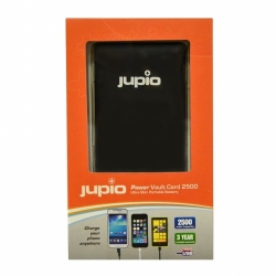 JUPIO Power Vault Card 2500 Black (2500mAh)