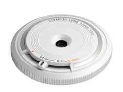 OLYMPUS Body Cap Lens 15mm 1:8.0 WHITE