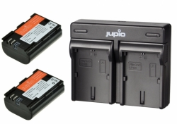 Jupio Kit 2x Battery LP-E6N *ULTRA* 2040mAh + USB Dual Charger