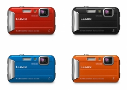 Panasonic Lumix DMC-FT30 oranžový