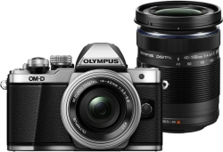 Olympus OM-D E-M10 Mark II R DZ kit silver/black