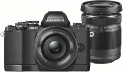OLYMPUS E-M10 DZ kit black/black