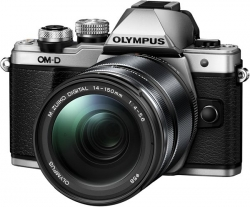 Olympus OM-D E-M10 Mark II  14-150 II kit silver/black