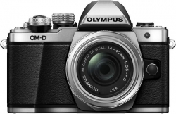 Olympus OM-D E-M10 Mark II 1442 kit silver/black