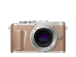 Olympus PEN E-PL10 body brown